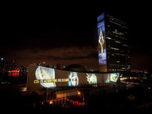 2-Racing-Extinction-Film-Projection-on-UN-Headquarters-September-2014