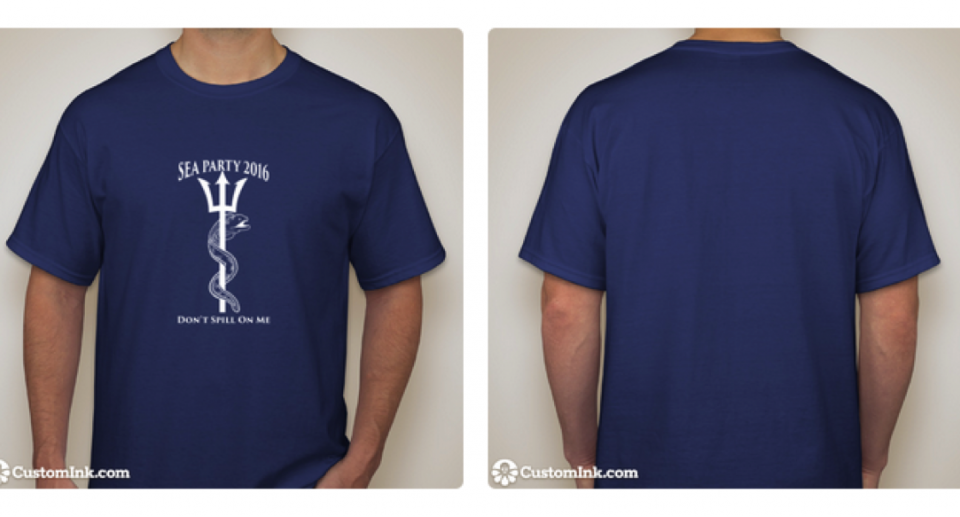 Sea Party t-shirts are here! Join now to get yours!